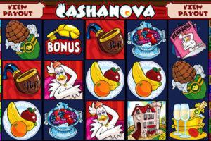 Cashanova slot screenshot