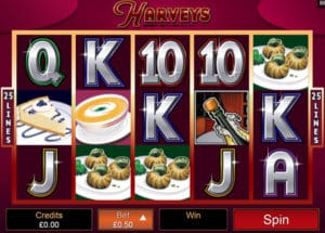 Harveys Video Slot Review