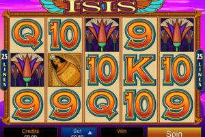 Isis Microgaming Slot screenshot