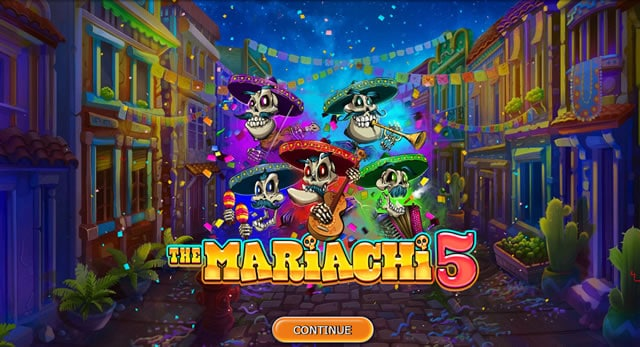 Mariachi 5 slot machine