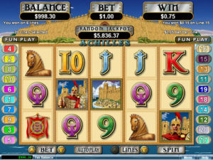 Achilles Slot Machine Review