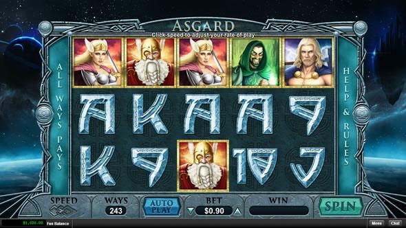 Asgard RTG slots review