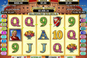 Caesar's Empire slots review