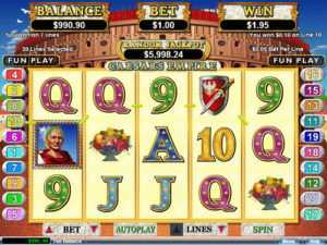 Caesar's Empire Slot Machine Review