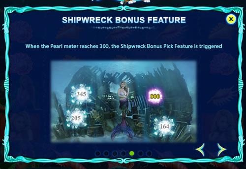 Mermaid's bonus feature