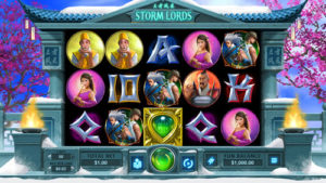 Storm lords RTG slots