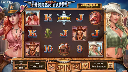 Trigger Happy slot 5 reels