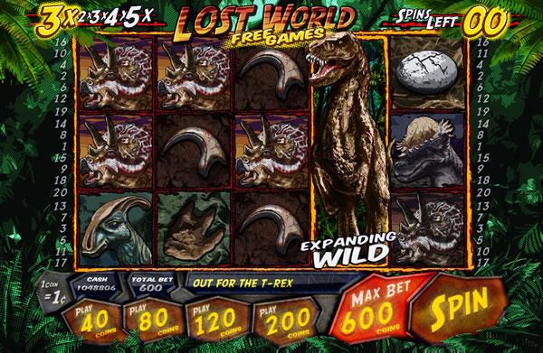 Lost World Slotland Slots Review