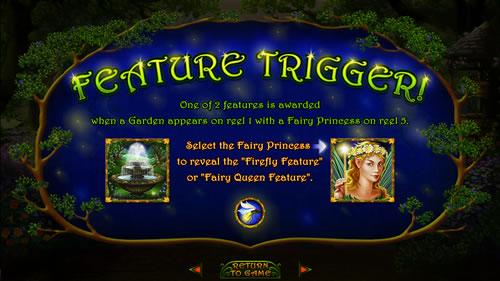 enhanced garden feature trigger