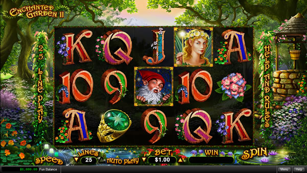 Spiele Enchanted Garden - Video Slots Online