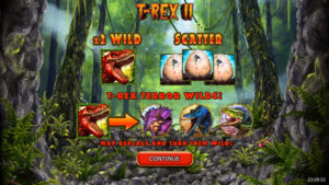 T-Rex 2 Slot Machine Review