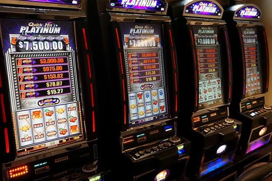 Win on slots