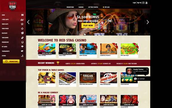 Red Stag Casino Bonus