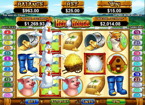 Hen House Free Slot Game