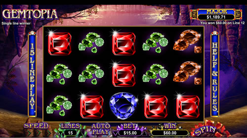 Gemtopia Free Slots RTG