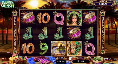 Samba Sunset Free Slot Game RTG