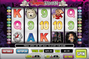 Vampire Vixen video slot game WGS