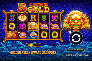 5 Lions Gold Slot Pragmatic Play