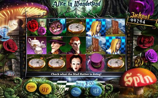 Alice in Wonderland Slot by Slotland