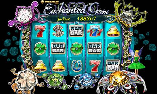 Enchanted Gems Slotland Slots