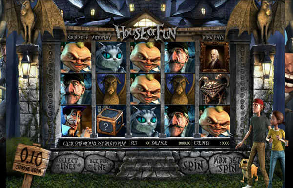 House of Fun Slot Game Betsoft