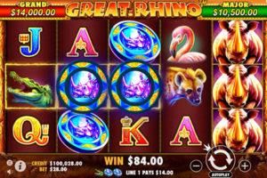 The Great Rhino Pragmatic Play Slots
