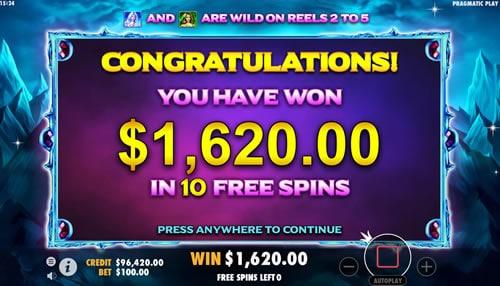 Wild Spells online slot game