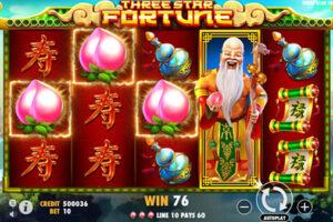 Three Star Fortune Slot Pragmatic Play