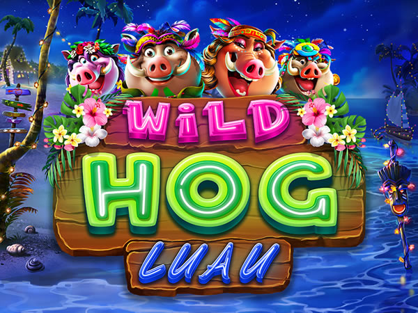 Wild Hog Luau RTG Slot game