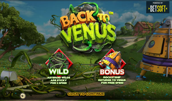 Back To Venus Slot Betsoft
