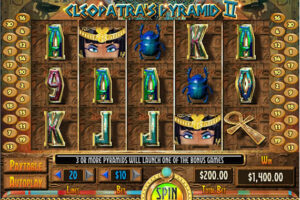 Cleopatra's Pyramid II Slot WGS