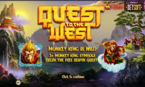 Quest to the West Slot Betsoft