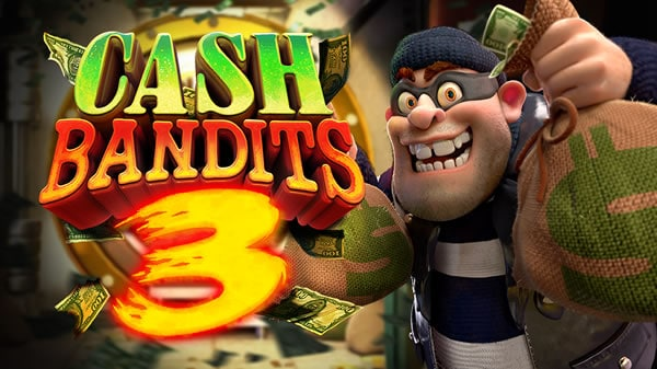 Cash Bandits 3 RTG slot machine