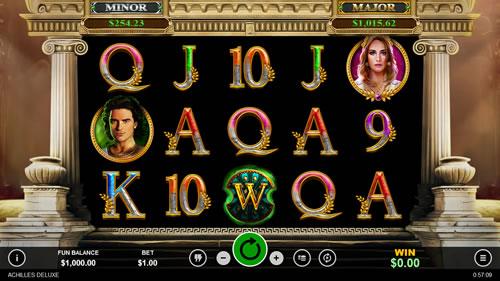 Achilles Deluxe Online Slots