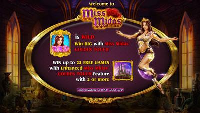 Miss Midas NextGen Games