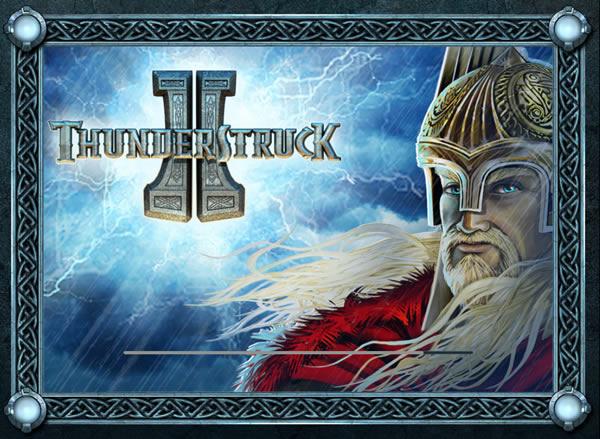 Thunderstruck II Microgaming slot game