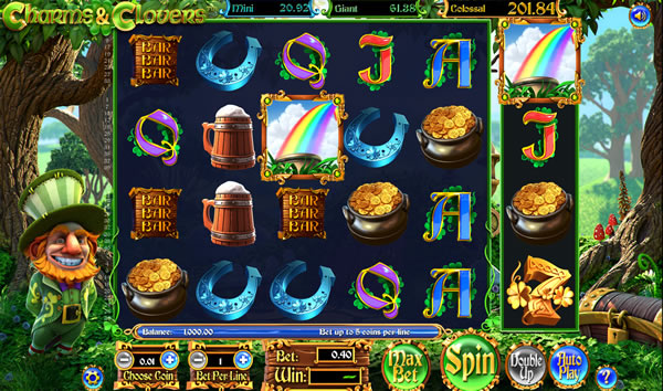 Charms and Clovers Slot Review