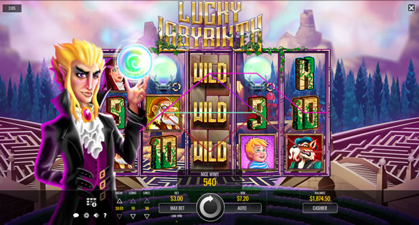 Lucky Labyrinth Slot Review Rival