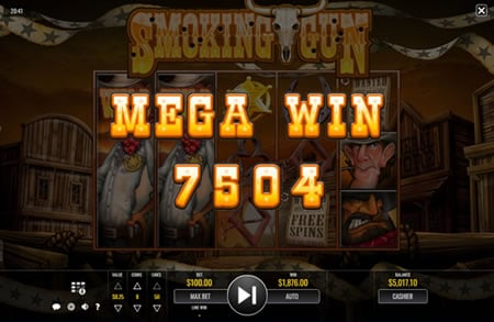 Smoking Gun Online Slot by Rival
