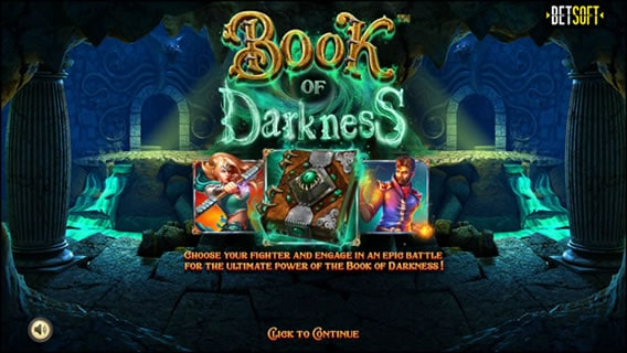 Book of Darkness Betsoft Slots
