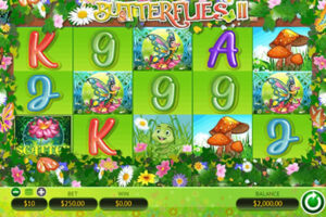 Butterflies II WGS Slot game