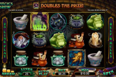 Witch's Brew RTG Slot Review