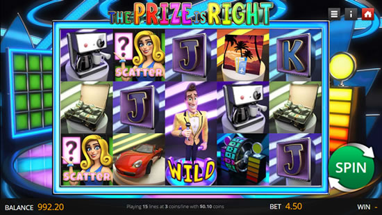 The Prize is Right Saucify Slot Game