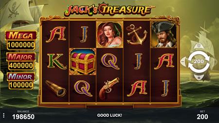 Jack's Treasure Pariplay Slot