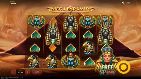 Mega Pyramid Red Tiger Gaming