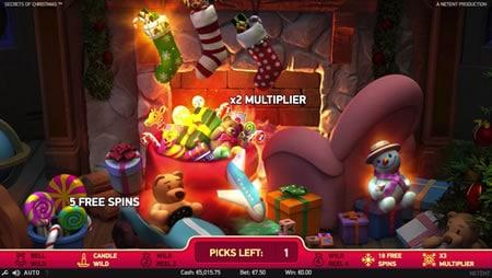 Secrets of Christmas Bonus Game