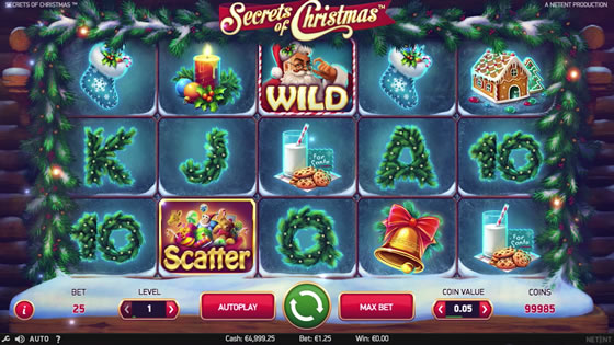 Secrets of Christmas Slot Game Netent