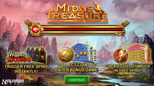 Midas Treasure Kalamba Slot