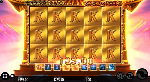 Sword of Khans Bonus Game