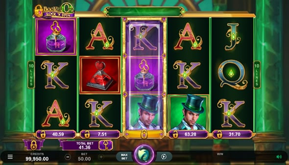 Book of Oz Lock 'N Spin Review